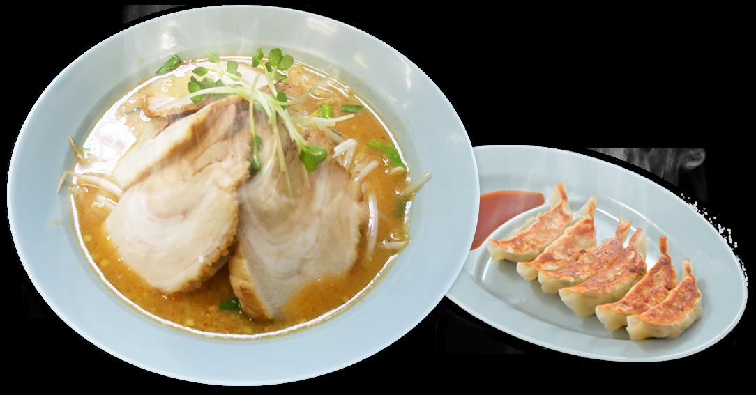 味噌チャーシュー・餃子イメージ